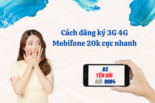 Cách đăng ký 3G 4G Mobifone 20k cực nhanh.thegioigoicuoc.com